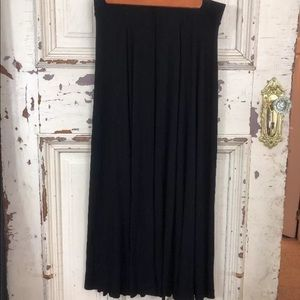 Soft Surroundings Skirt maxi stretch NWT H